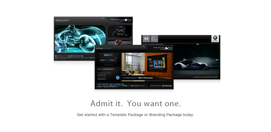 Admit it.  You want one.  Get started with a Template Package or Branding Package today.